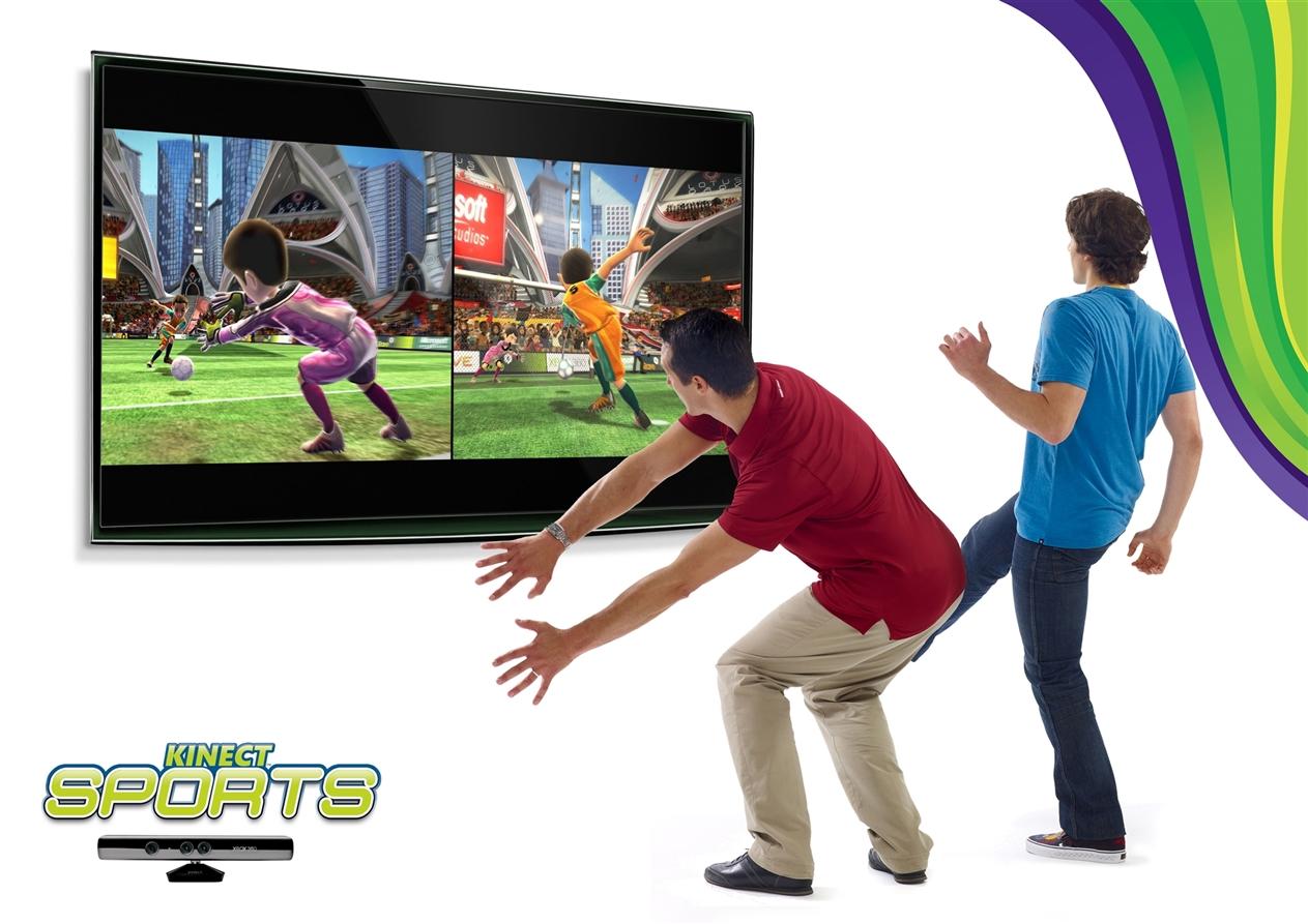 Get sweaty with Kinect...