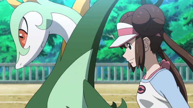 Pokemon Gen 4 Anime Characters : Pokémon get tv announces hidden ability serperior serial
