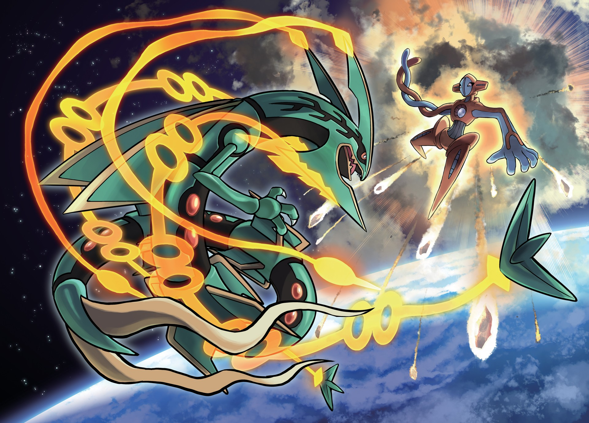 Deoxys Vs Rayquaza The Delta Episode Announced For Pokemon