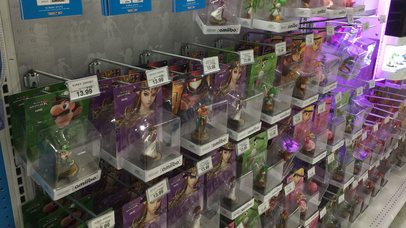 All Toys Toys R Us : All available amiibo figures are buy get off at