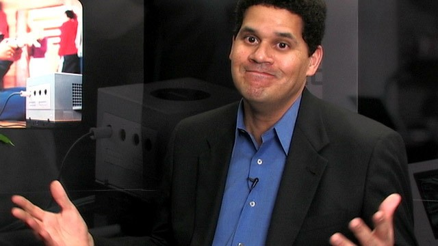Image result for reggie fils aime surprised