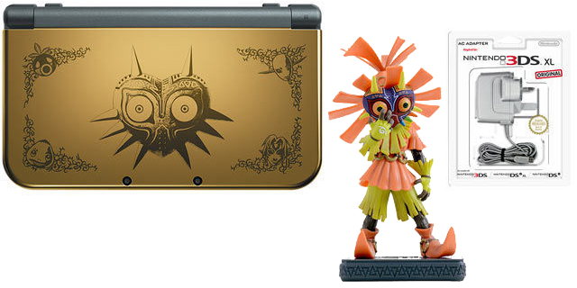 nintendo re opens pre orders for new nintendo 3ds xl majora s mask