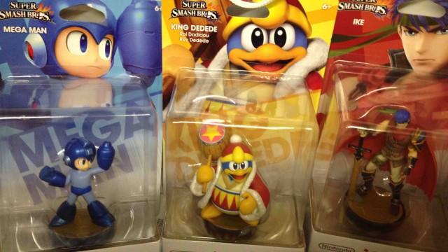 Mega Man King Dedede Ike Amiibo Have Arrived At The Nintendo World