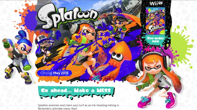 nintendo launches the official splatoon website the tanooki